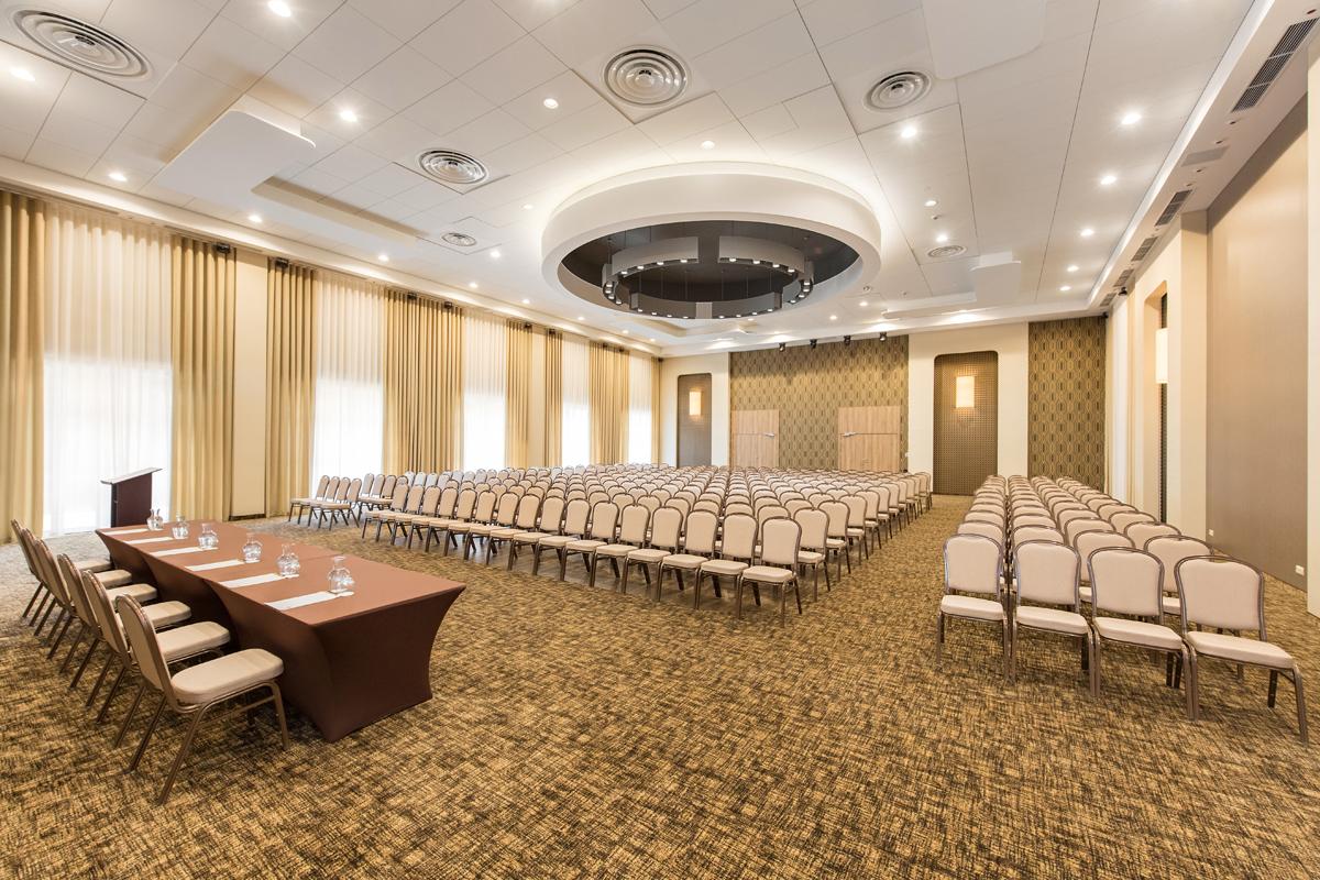 Fotografia hotelowa sala konferencyjna